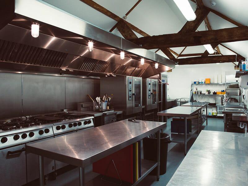 Commercial kitchen installation Sussex