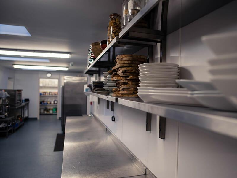 Commercial kitchen installation West Sussex