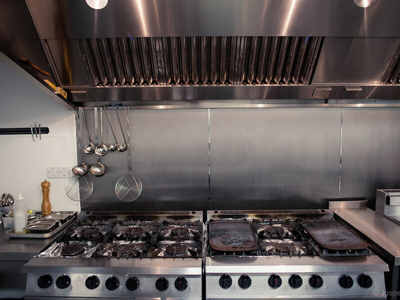 Commercial kitchen installation Hampshire